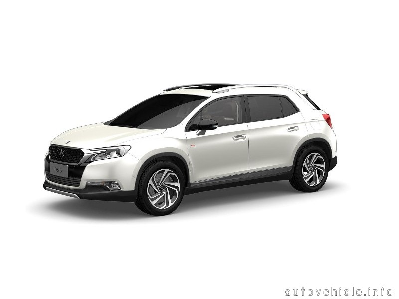 Ds Automobile Ds 6 2014 Present Ds Automobile Ds 6 2014 Presen
