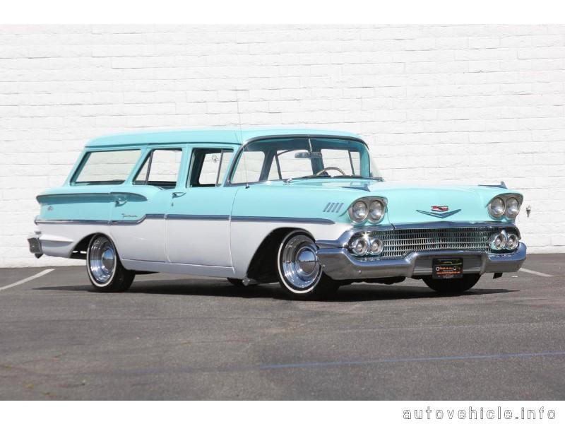 Chevrolet Yeoman (1958), Chevrolet Yeoman (1958) Models, Chevrolet
