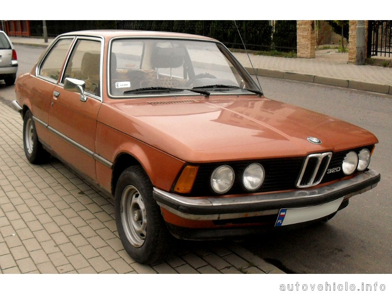 Bmw 3 Series (1975 - 1983), Bmw 3 Series (1975 - 1983) Models