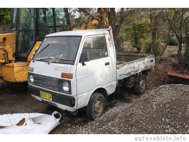 Daihatsu Hijet / 55 Wide / 850/1000 / Atrai / Sparcar ...