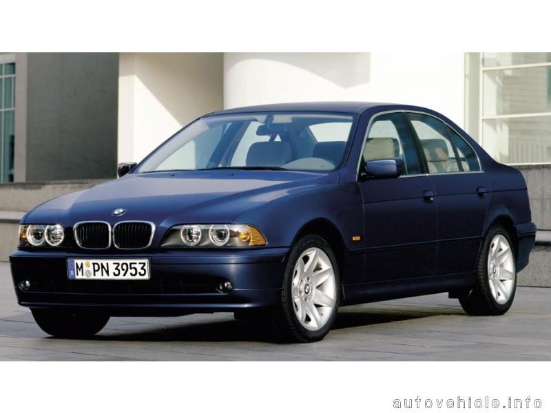 BMW 5 Series (1995 - 2003), BMW 5 Series (1995 - 2003) Models, BMW 5 S