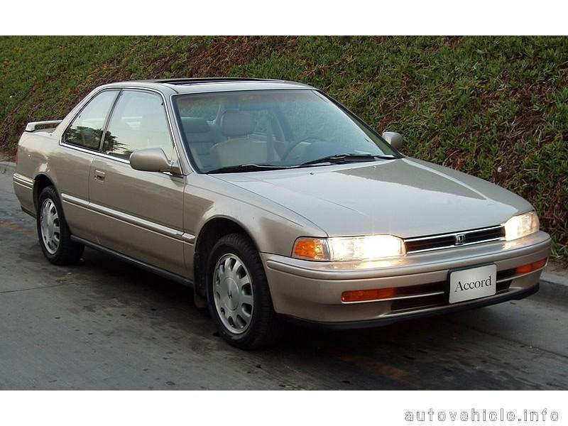 Honda Accord (1990 - 1993), Honda Accord (1990 - 1993) Models, Honda A