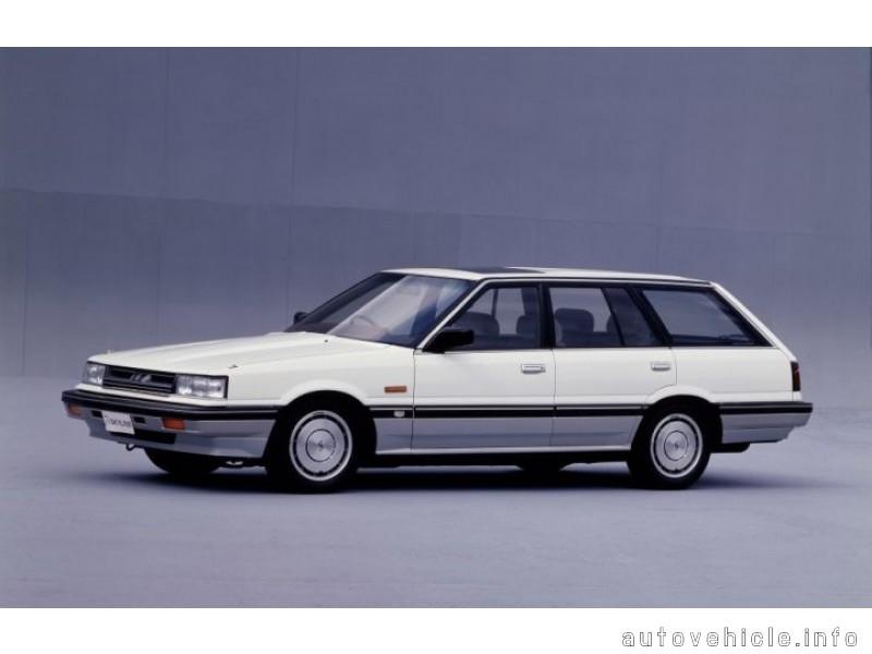 Nissan Skyline (1985 - 1990), Nissan Skyline (1985 - 1990
