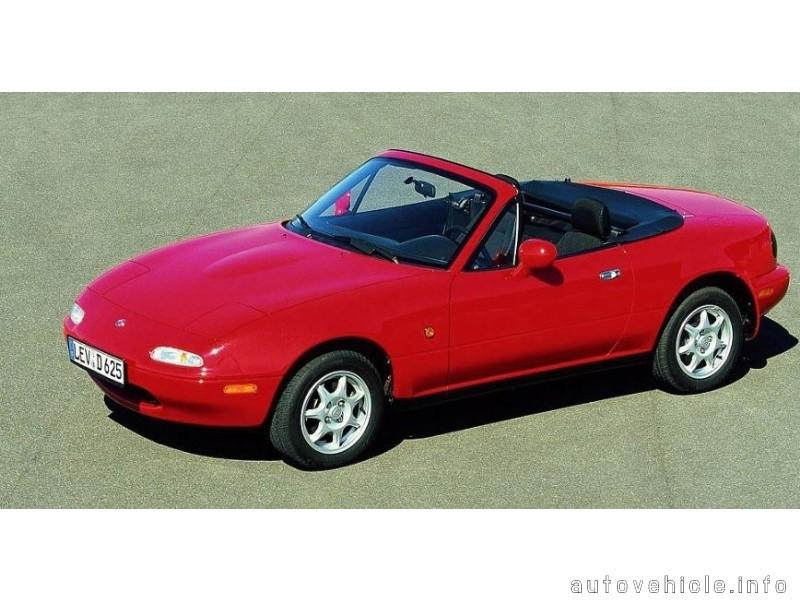 Mazda Mx 5 Miata Eunos Roadster 1989 1997 Mazda Mx 5 Miata